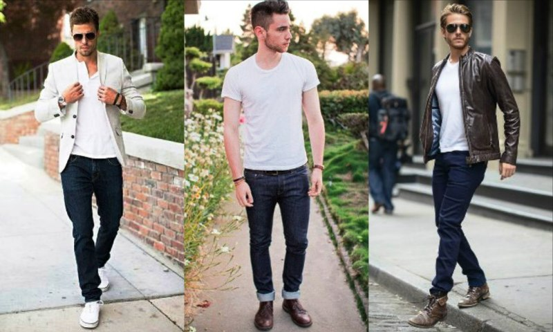 Which colour shoes to wear with blue jeans