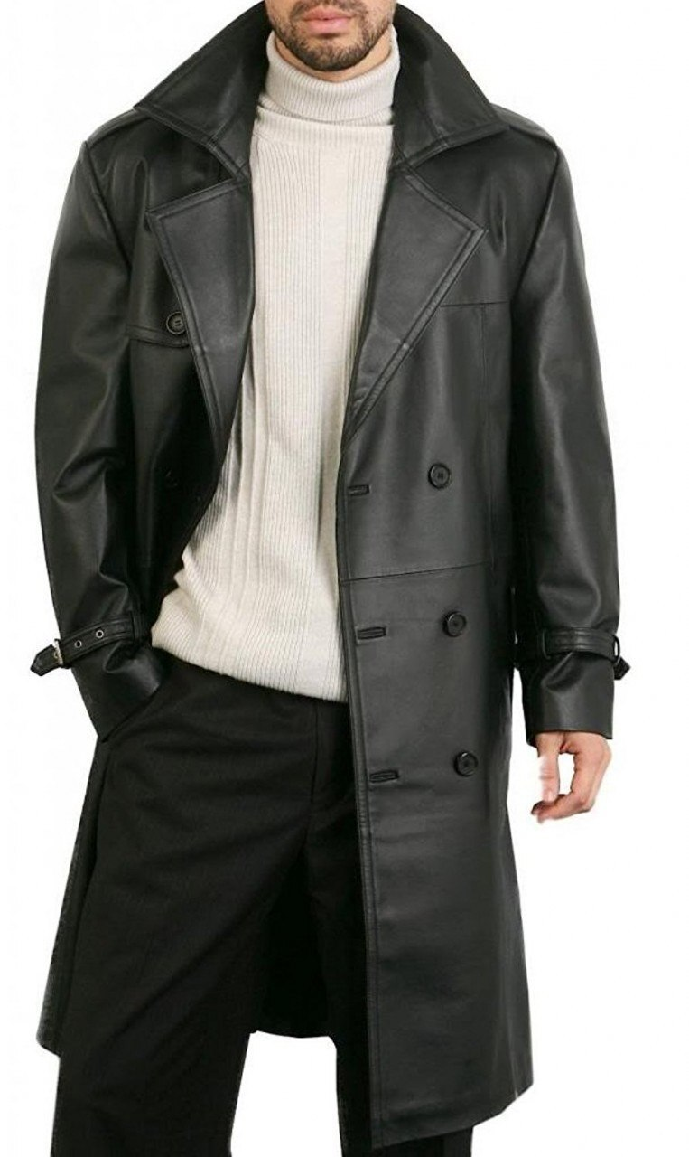 Image result for The Leather Trench Coat